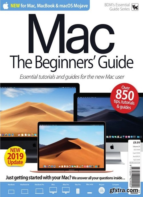 BDM\'s Essential Guide Series - Mac for Beginners vol 29, 2019