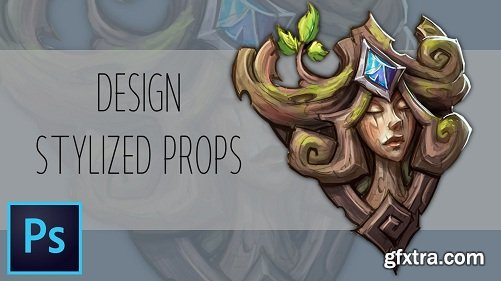 Painting Stylized Props For Games in Photoshop