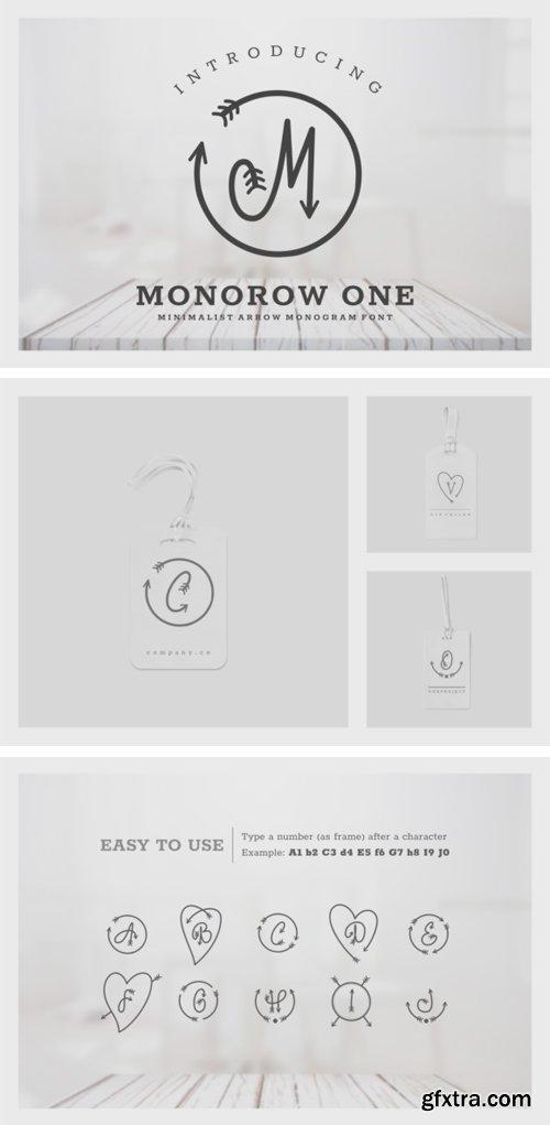 Monorow Font Family