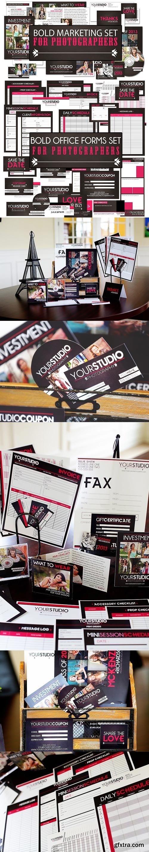 Photographer Resources - BOLD Marketing & Office Forms Bundle