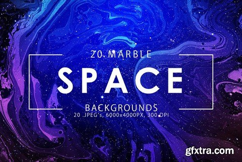CM - Only Ink & Marble Backgrounds Bundle 2352589