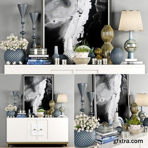 Decorative Set - 19 3D Model