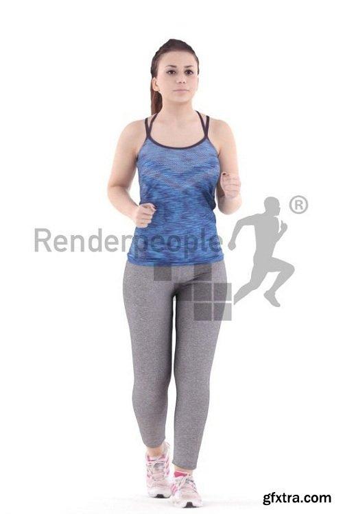RenderPeople - Bianca Posed 019 3d Model