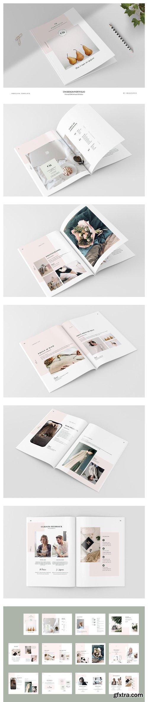CreativeMarket - CM - Design Portfolio 3154013