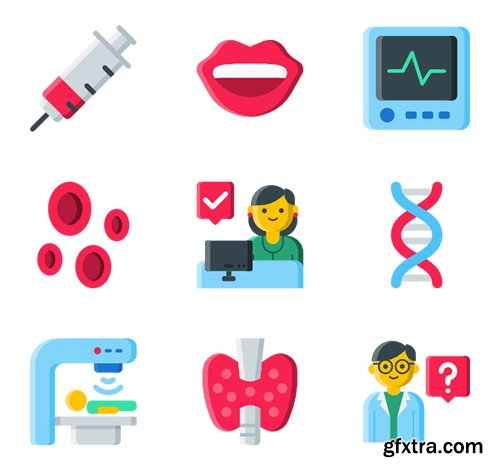 105 Medical & Health Icons