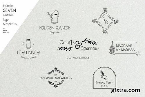 CM - Saturday Market Font + Free Logos 4008078