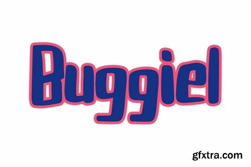 Buggiel Font