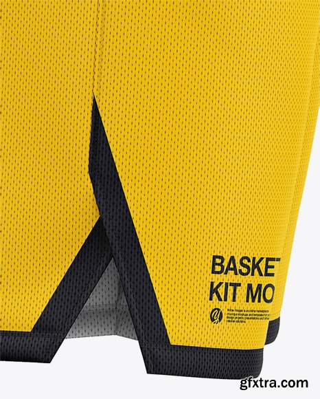 Men's Basketball Kit Mockup - Side View 47399