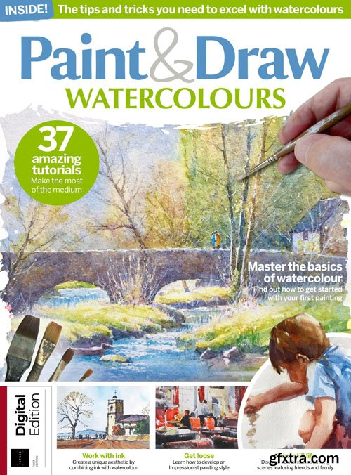 Paint & Draw Watercolours | July 2019
