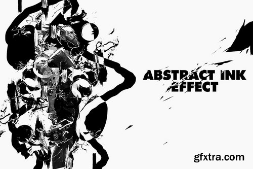 GraphicRiver - Abstract Ink Poster Photoshop Action 24287671