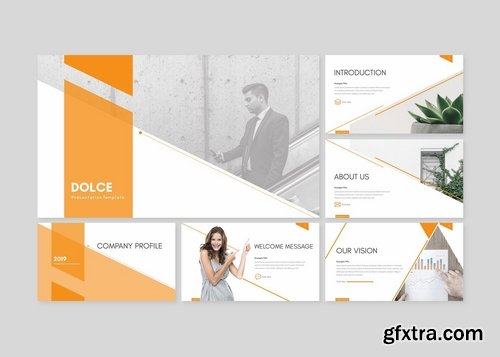 Dolce - Powerpoint Google Slides and Keynote Templates