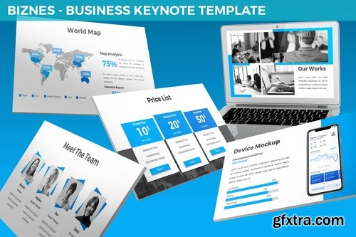 Biznes - Business Keynote Template