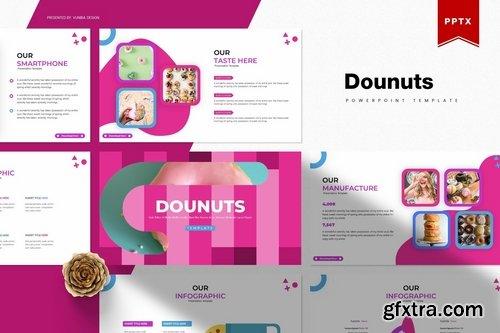 Dounuts Powerpoint Template