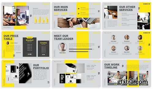 Magpie - Creative Keynote Template
