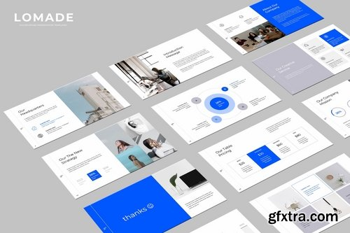 LOMADE - Powerpoint and Keynote Templates