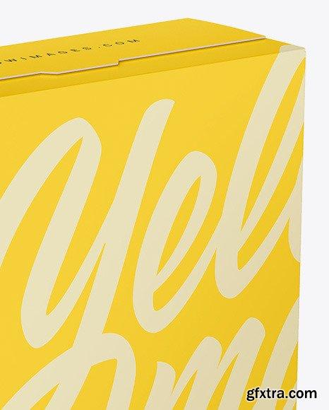 Two Matte Paper Boxes Mockup 47620