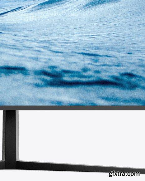Matte Monitor Mockup 47616