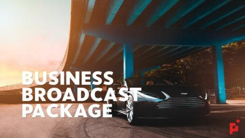 Udemy - Business Broadcast Pack   Essential Graphics   Mogrt