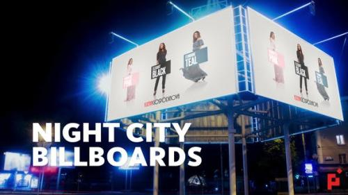 Udemy - Night Billboard Mockup