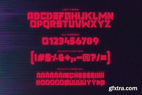 CM - MEGATON Display Fonts 4014431