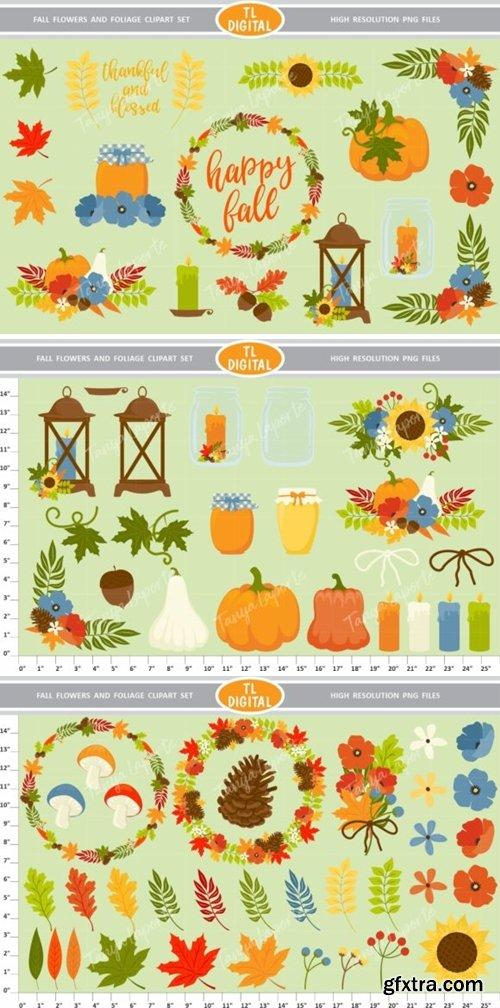 Fall Flowers and Foliage