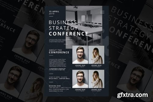 Business Strategy Conference Flyer