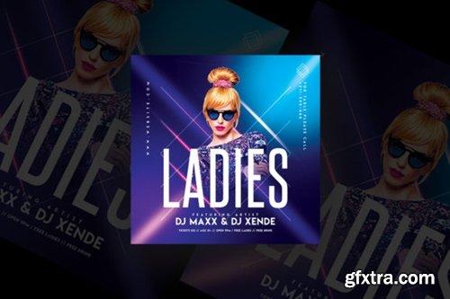 Ladies Party Flyer Templates