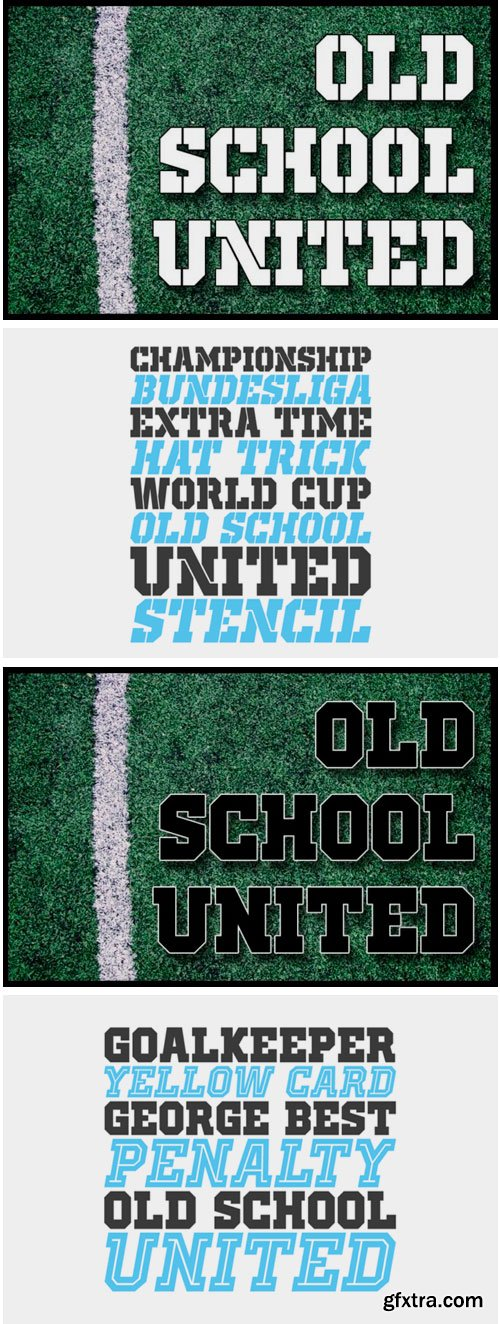 Old School United Font