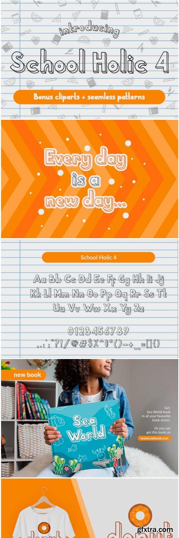 School Holic 4 Font
