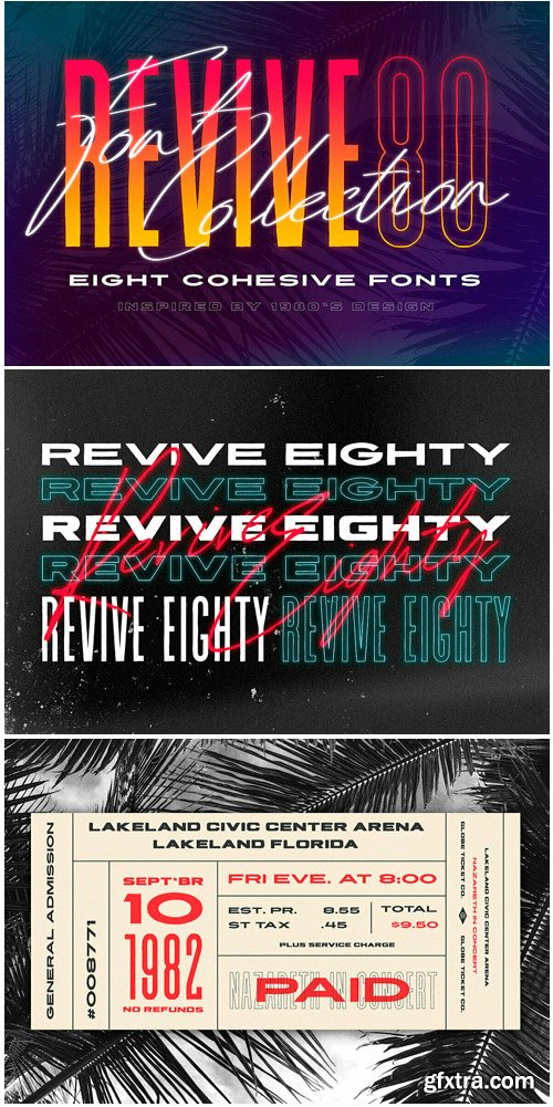 Revive 80 Font Family