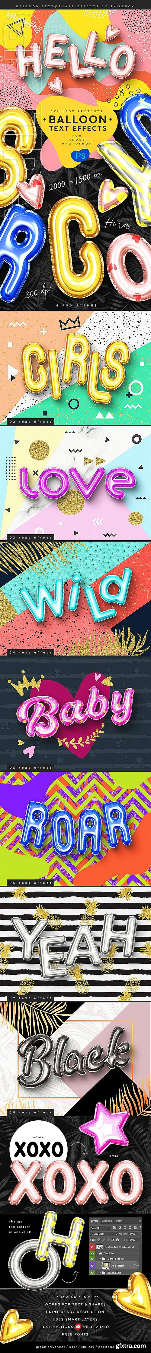 GraphicRiver - Foil Balloon Text Effects - Vol 2 24271889