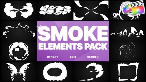 Udemy - Smoke Elements Pack | Final Cut