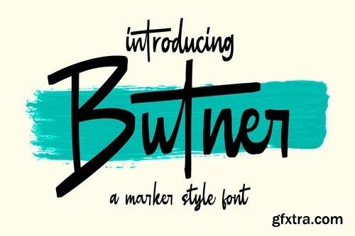 CM - Butner - Marker Font 4015756