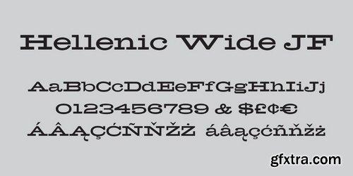 Hellenic Wide Font