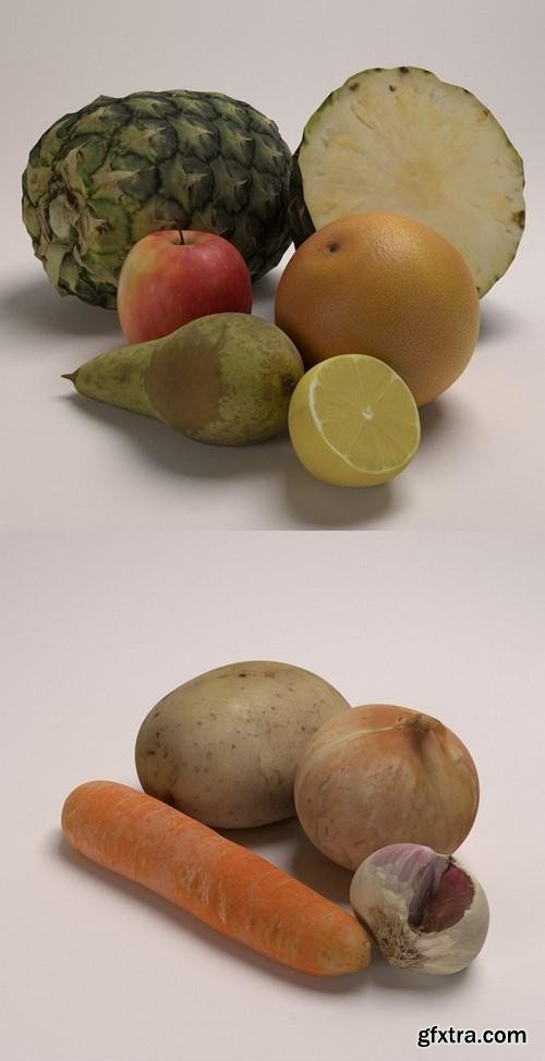3D Food Photogrammetry