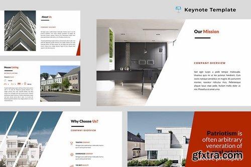 Real Estate Keynote Presentation Template