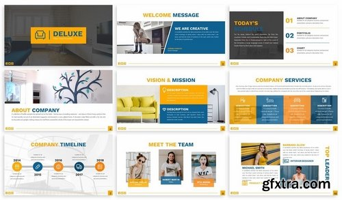 Deluxe - Furniture Keynote Template