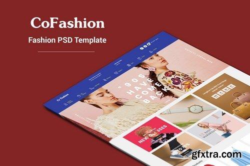 CoFashion - Fashion PSD Template