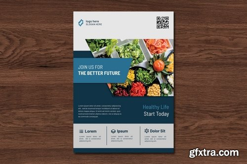 Lifela Healthy Flyer Template