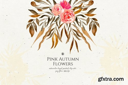 Pink Autumn Flowers vol.2
