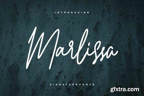 Marlissa - Signature Font