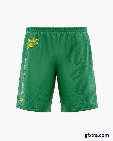 Men\'s Soccer Shorts Mockup - Front View 47571