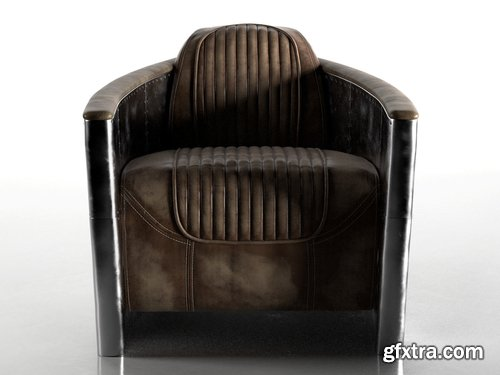 Cgtrader - Aviator Chair 3D model