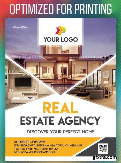 Real Estate Agency V1208 2019 PSD Flyer Template
