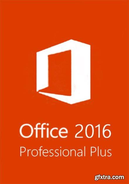 Microsoft Office 2016 v16.0.4849.1000 (x86/x64) Pro Plus August 2019