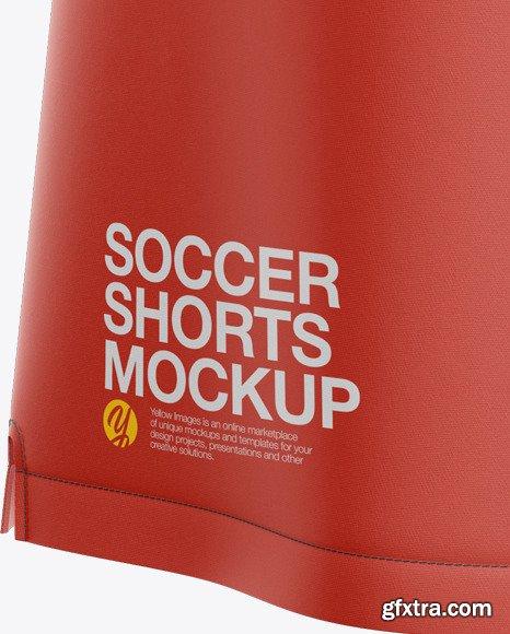 Men\'s Soccer Shorts Mockup 47576