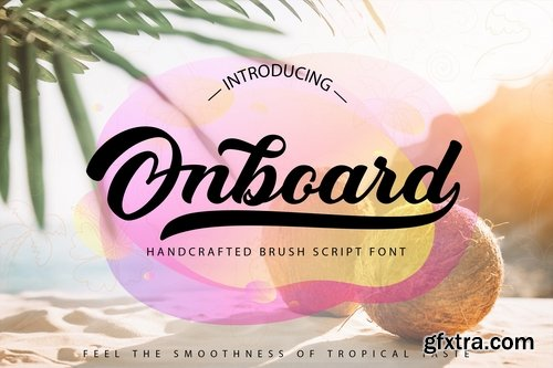 Onboard | Smooth Script Font