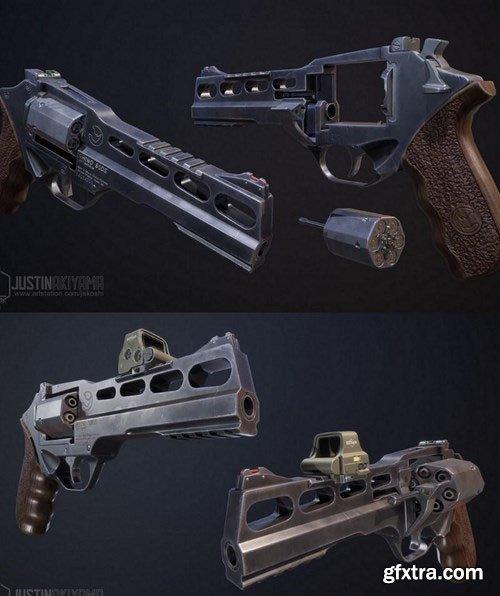 Chiappa Rhino Revolver – 3D Model