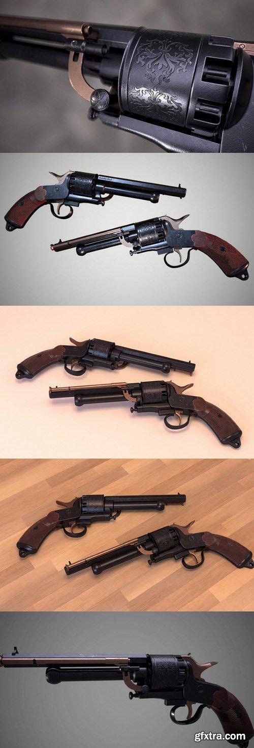 LeMat Revolver – 3D Model