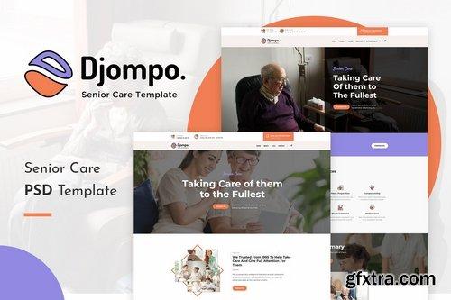 Djompo Senior Care PSD Template